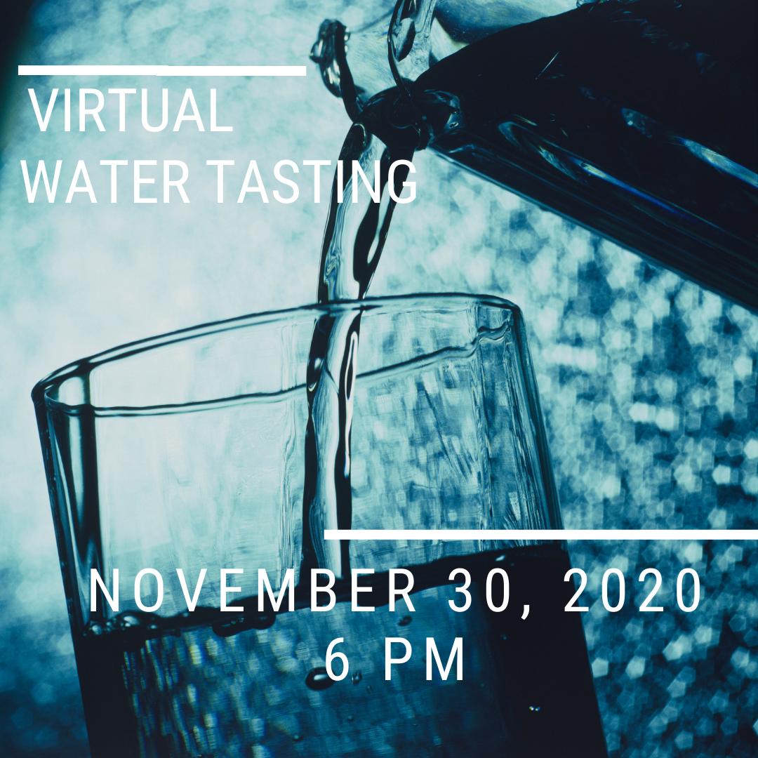 Virtual Water Tasting